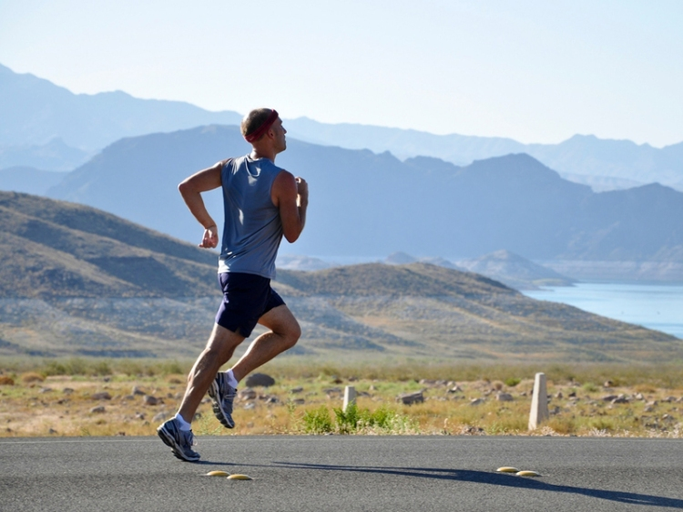 athletic-runner-on-scenic-road