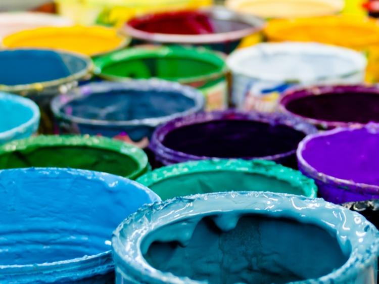 colorful-paint-cans