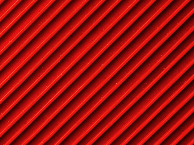 red-grates-onfence
